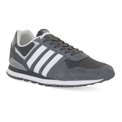 Adidas For Mens adidas neo mens 10k trainers grey mens from loofes uk