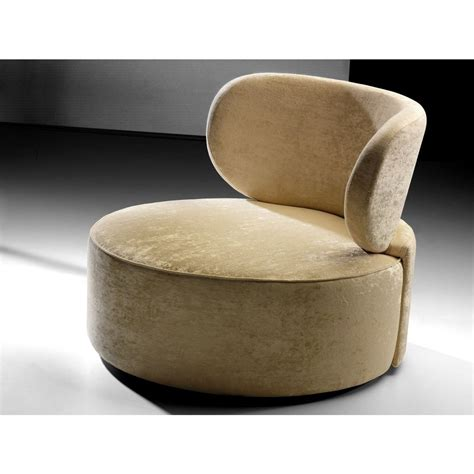 round armchairs upholstered plush velvet flyer cream round chair