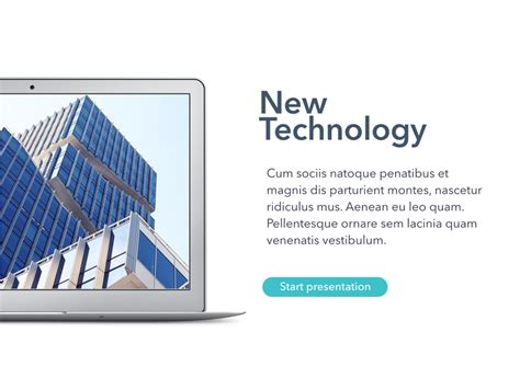New Technology Template New Technology Powerpoint Template By Jumsoft Graphicriver