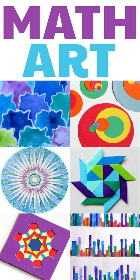 math pattern ideas cool math art projects for kids home or classroom clever