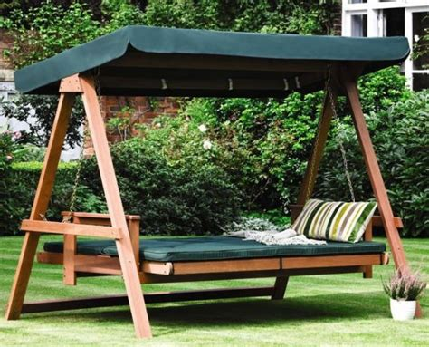 Backyard Swing Ideas 29 Hanging Bed Design Ideas To Swing In The Times