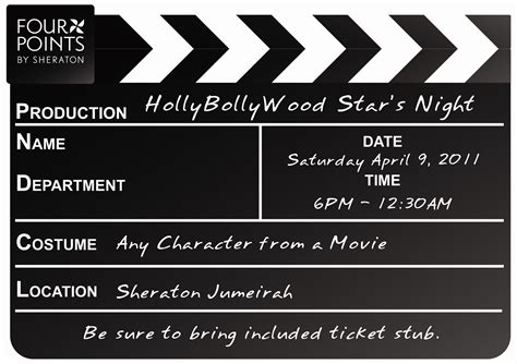 printable hollywood invitation templates party invitations awesome hollywood party invitations