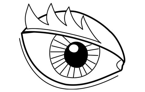 coloring page eye img 22719 coloring home