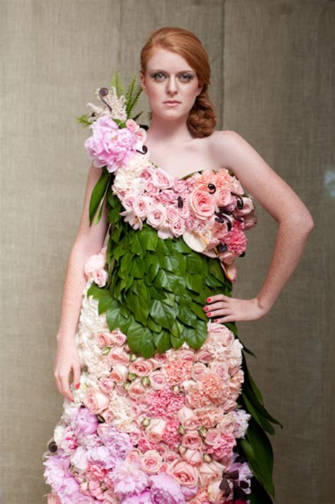 Flowers Dress a dress of flowers by emily flirty fleurs the florist inspiration for floral