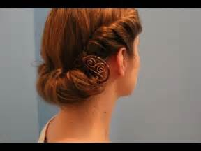 rainy day quot roll tuck quot hairstyle 1940s edwardian theme