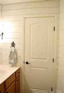 Bathroom Faux Paint Ideas faux shiplap bathroom makeover bathroom ideas how to wall decor