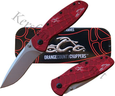 kershaw blur orange kershaw blur orange county choppers 1670occ