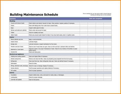 apartment work order template maintenance request form