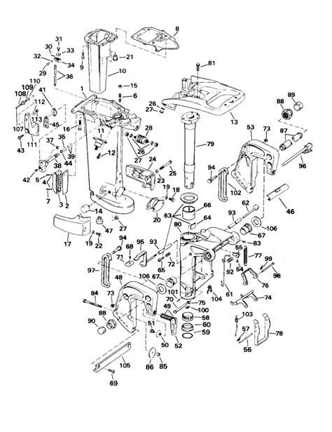 johnson outboard parts diagram motor parts used johnson outboard motor parts