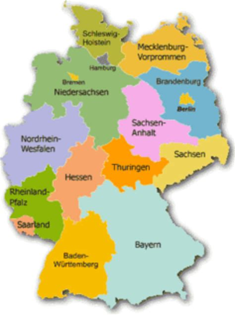 germany state map land free images at clker vector clip