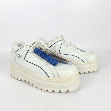 skechers platform sneakers skechers platform sneakers vintage 1990s jammers s size 6