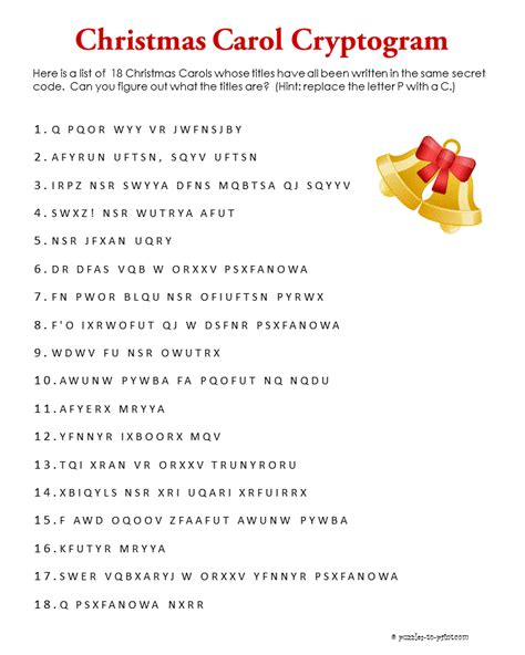 christmas word scrambles   kittybabylovecom