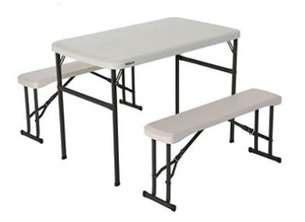 sam s folding picnic table sam s folding picnic table and bench set only 65