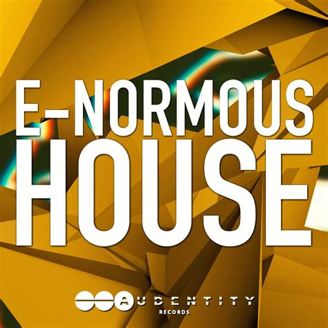 new hot house music e normous house sle pack by audentity records released