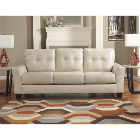 Taupe Leather Sofa Paulie Leather Sofa In Taupe 2700038