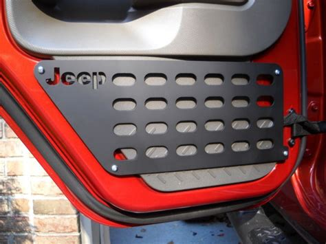 jeep protector jeep tailgate protector with molle attachment