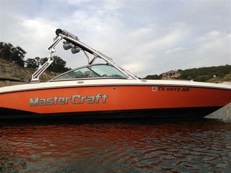 orange boat 2007 maristar 230 w tower orange and black teamtalk