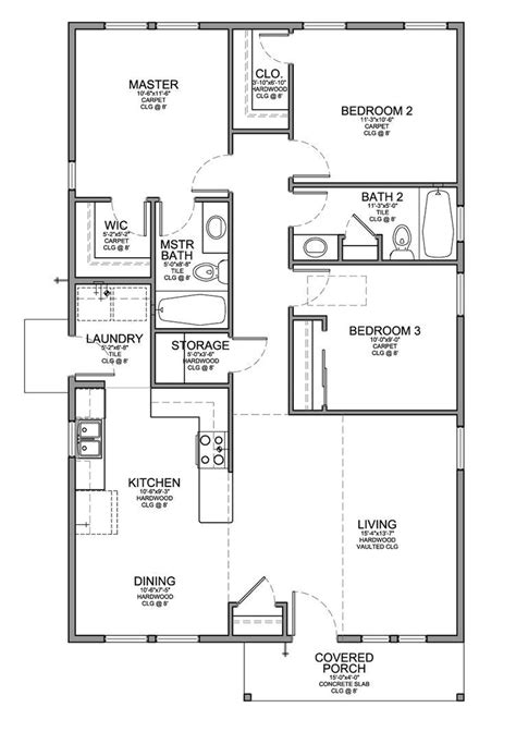 cheap house floor plans house plans 30 000 cheap 3 bedroom house plan a frame