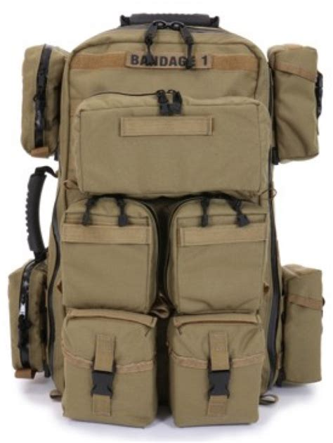 medic backpack r b tactical backpack with pouches common cents