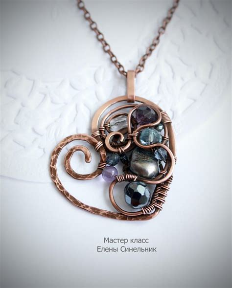 wire wrapped pendant tutorial wire wrap tutorial in russian by schepotkina on deviantart
