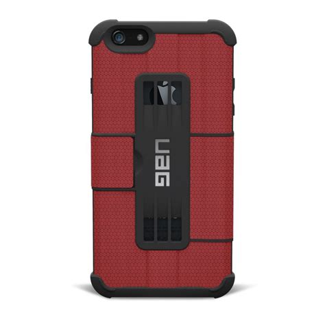 iphone 6 uag genuine uag rugged phone armor gear folio flip for iphone 6 plus ebay
