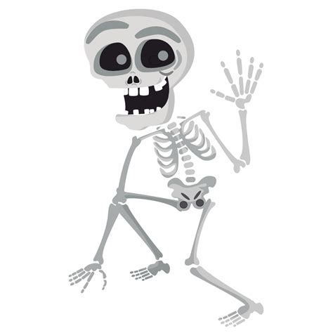 skeleton clipart free friendly skeleton clip