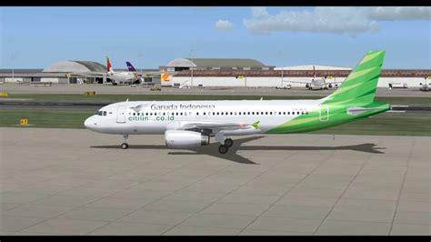 citilink vs garuda airbus a320 232sl garuda indonesia citilink take off from