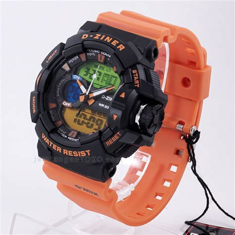 Jam Tangan Hush Puppies Hb1075 Orange harga sarap jam tangan d ziner dz 8089 orange