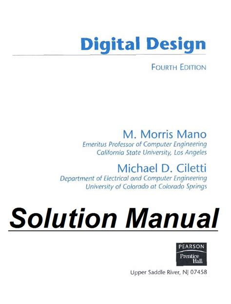 digital integrated circuit solution solution manual for analysis and design of digital integrated circuits 28 images department