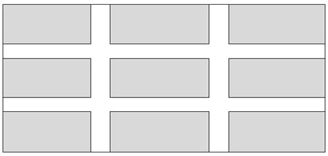 grid layout padding html items grid with inner padding only