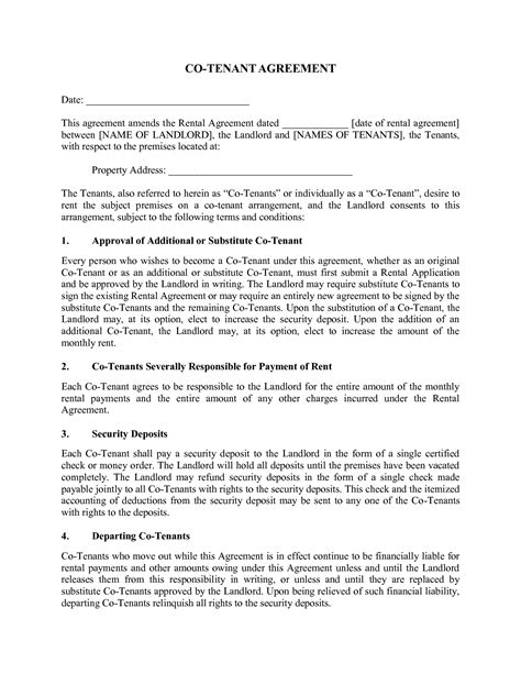 generic rental agreement template best photos of print free generic rental agreement free