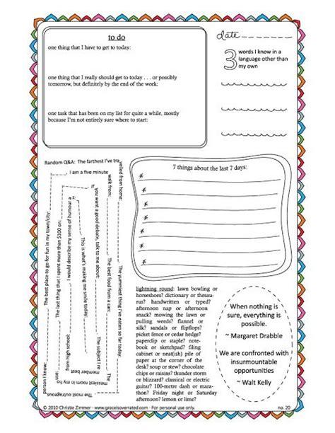printable journal ideas journal pages classroom ideas pinterest