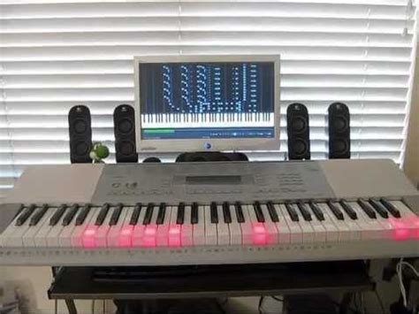 casio lk 280 lighted keyboard circus galop on a casio lk 280 keyboard youtube