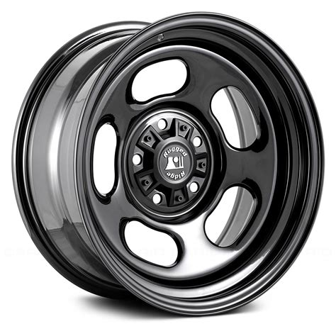 rugged wheels rugged ridge 174 trail runner wheels black rims
