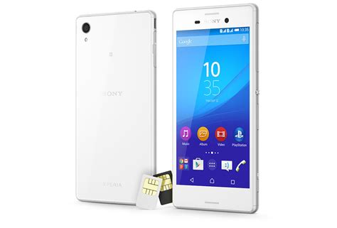 dual sim sony mobile xperia m4 aqua dual specifications dual sim phone with 5