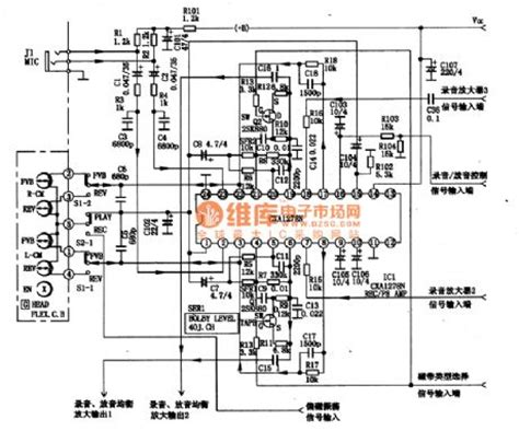 integrated circuit records cxal278n single chip sound record and playback integrated circuit lifier circuits