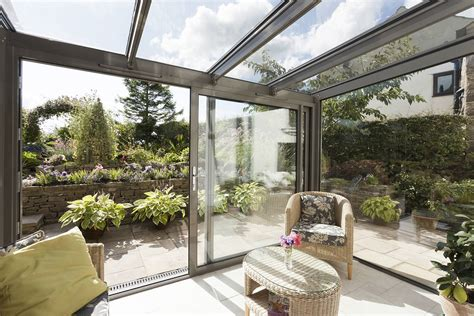 modern conservatory modern glass extensions apropos conservatories