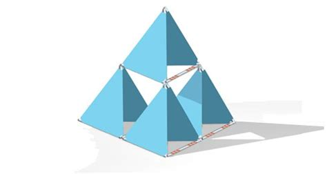 Tetrahedron Kite Template by Kite Template Used Ca Diy Kite