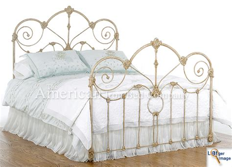 Vintage Iron Bed Frames by Antique Iron Beds American Iron Bed Company Authentic