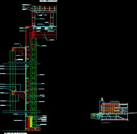 muro cortina dwg planospara author at planos de casas planos de