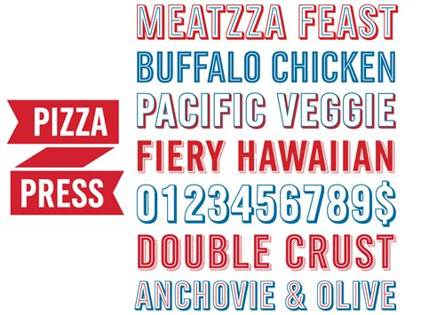 domino pizza font monotype typeface designs honored by type directors club