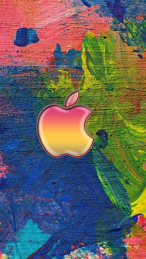 wallpaper for apple 5 s apple logo on the easel iphone 5s wallpaper iphone se