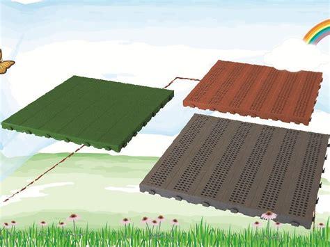 piastrelle in plastica per giardino pavimento per esterni in plastica piastrella onek