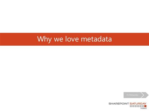 How To Make A Fall In In 5 Dates by How To Make Users Fall In With Metadata In Sharepoint