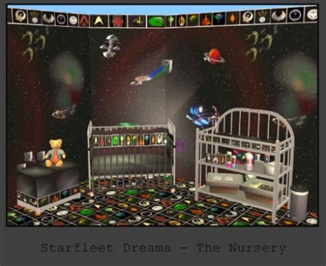 mod  sims starfleet dreams  nursery