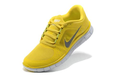 yellow grey nike free run 3 5 0 running shoes 70