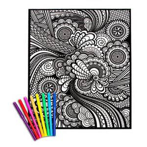 velvet posters to color geometric velvet coloring posters for crafting