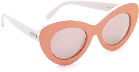 Hairclip 7revo Hair Clip 7 Revo le specs go go go sunglasses matte apricot white revo in orange lyst