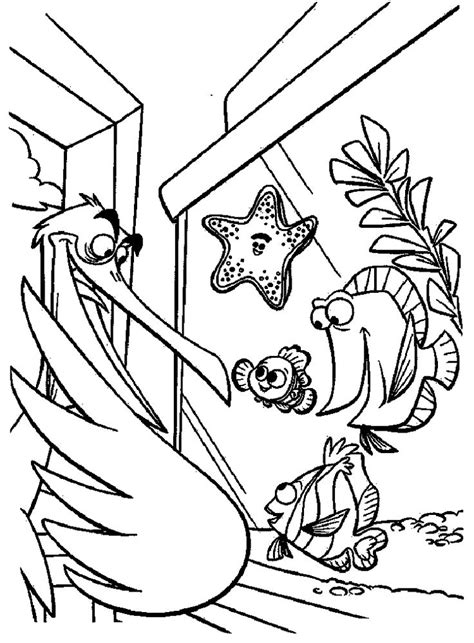 finding nemo coloring pages darla 35 mejores im 225 genes de finding nemo coloring pages en