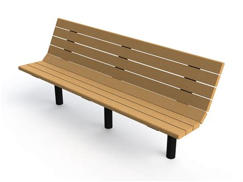 x bench riverview recycled plastic bench pw athletic mfg co patterson williams llc